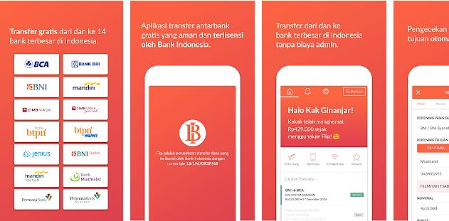 Aplikasi Flip Android