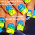 Neon SUMMER Ombre Splatter Paint Nail Design!
