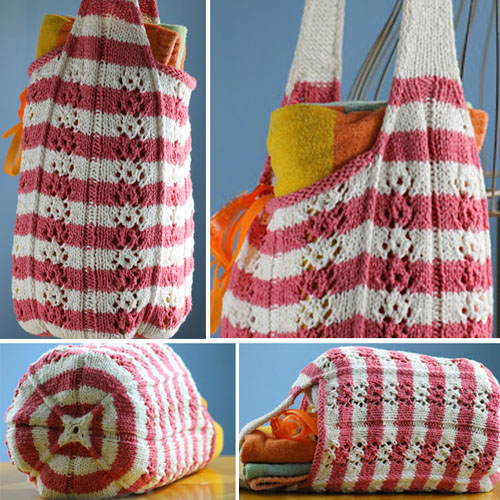Funner Summer Beach Bag - Free Pattern