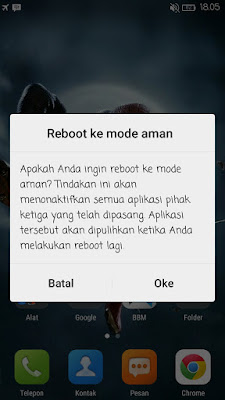 Safe Mode pada Android