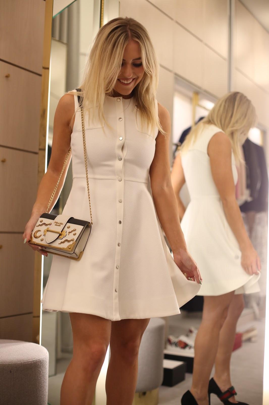 maje pop button dress