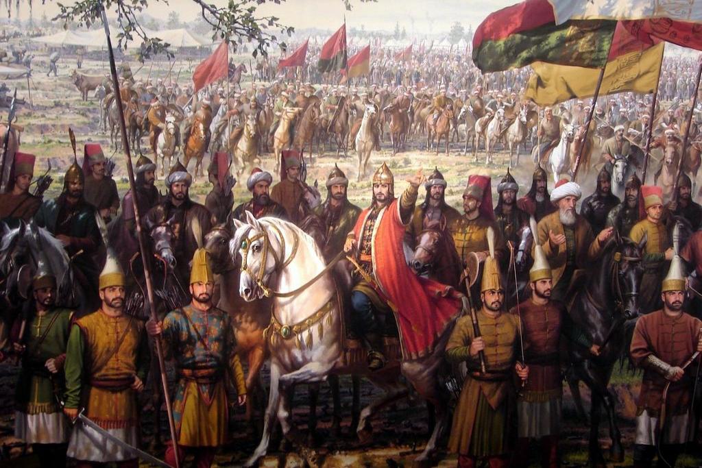 Penaklukan Konstatimopel oleh SUlten Mehmed II