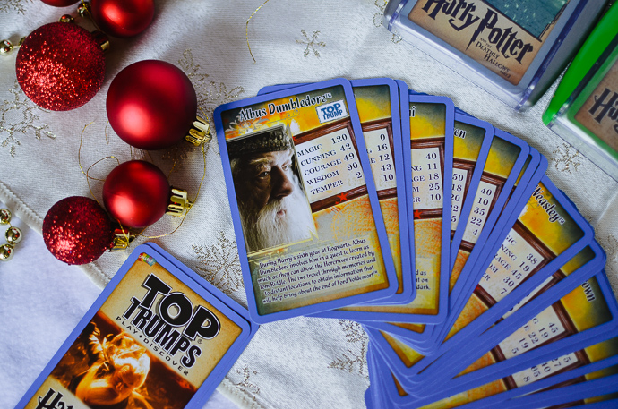 Harry potter gift guide, Harry Potter Top Trumps