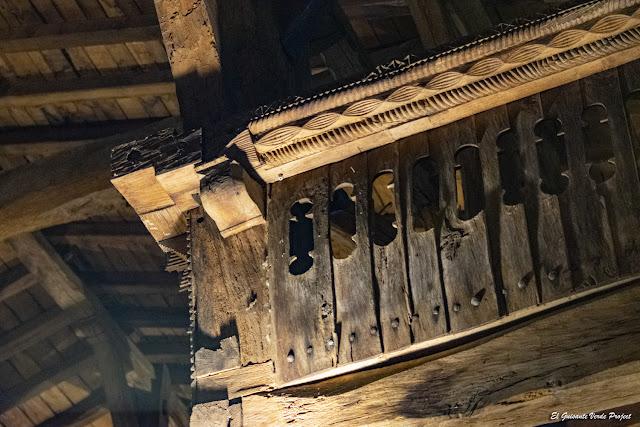 La Antigua, decoración tribunas - Zumarraga