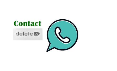 cara hapus kontak whatsapp