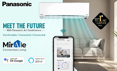 Panasonic 1.5 Ton 5 Star Wi-Fi Twin Cool Inverter Split AC With Advanced Technologies That Truly Make Life Better