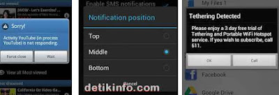 cantoh popup di android