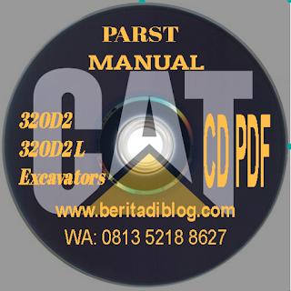 Parts Manual Cat320D 2 Cat320D2 L