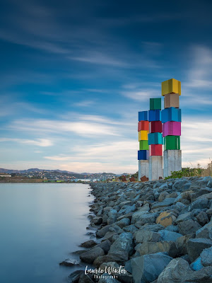New Zealand, NZ, Wellington, Sunset, Sunrise, Urban Cubes, Evans Bay