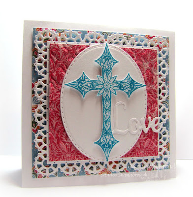 Our Daily Bread Designs Stamp sets: Boho Cross, Our Daily Bread Designs Paper Collections: Beautiful Boho, Our Daily Bread Designs Custom Dies Boho Background, Stitched Ovals, Faith, Hope & Love, Layered Lacey Squares