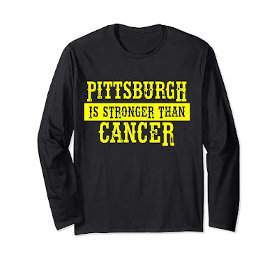Pittsburgh is stronger than Cancer perfect Cancer Awareness Long Sleeve T-Shirt