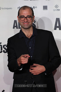 Paco Cabezas, en la Premiere de Adiós