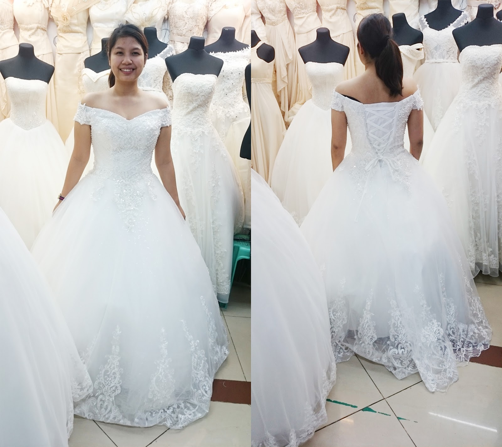 Wedding gown hunt: Divisoria - The Blahger