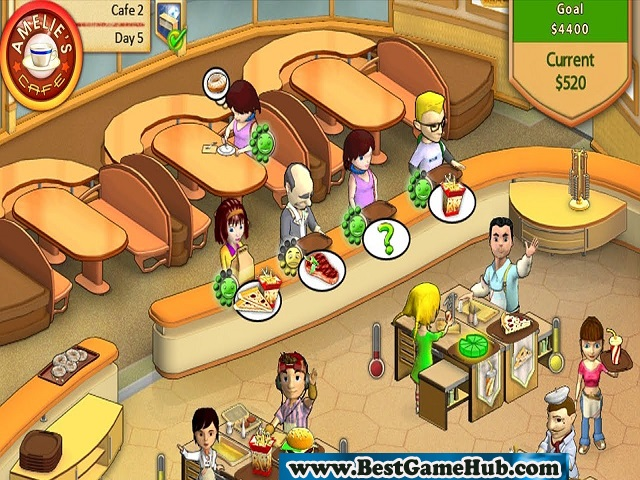 Amelies Cafe PC Game 100% Working
