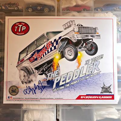 The Toy Peddler  Custom '64 Wagon Gasser nova ttp lee allen nuclear mindz design