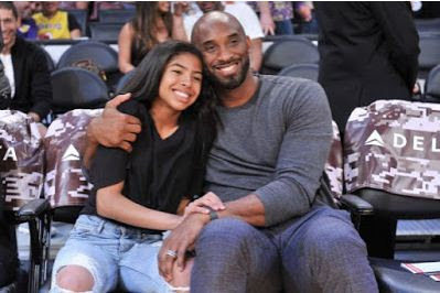 Gigi and Kobe Bryant