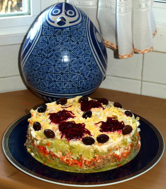 Cocinar es vivir y bordar tambi n ensaladilla rusa for Cocinar ensaladilla rusa