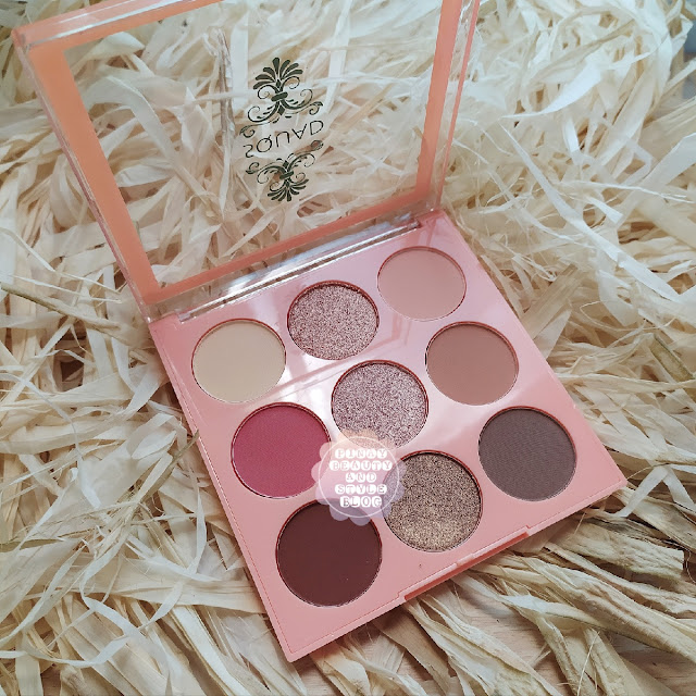 REVIEW Neutral Squad Eyeshadow Palette from Squad Cosmetics - Every Day Makeup for The Girl Next Door!