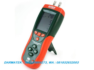 Jual Extech HD-350 A Pitot Tube Anemometer + Differential Manometer
