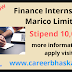 Finance Internship in Marico Limited