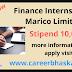 Finance Internship in Marico Limited