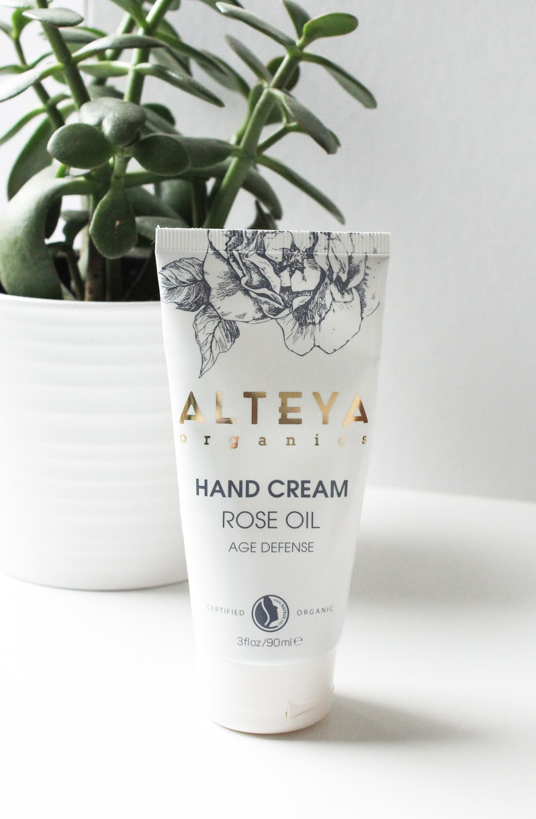 Alteya Organics Hand Cream Rose Oil Age Defense. LoveLula