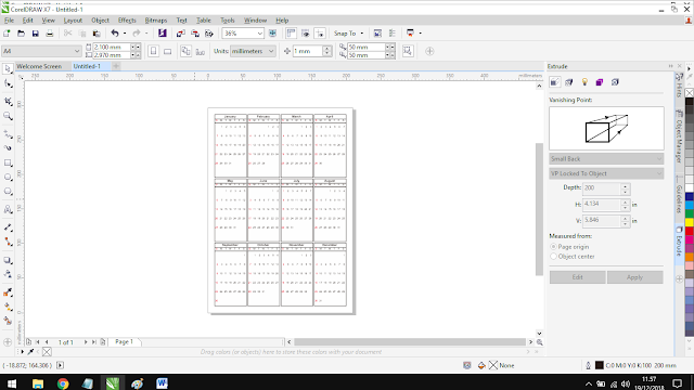 all done with tutorials how to make created calendar