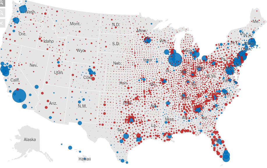 Years Of Electoral College Maps How The US Turned Red And Red - 2012 presidential election us map