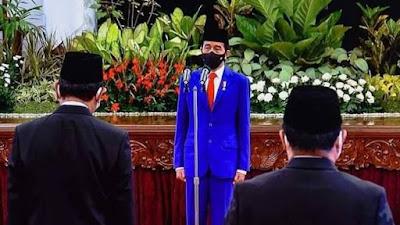 Bidik Update : Presiden Joko Widodo Resmi Reshuffle Kabinet Indonesia Maju
