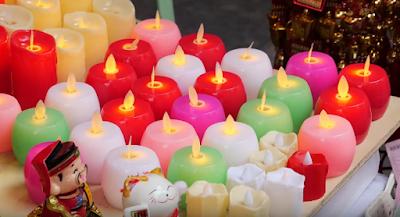 Luanar New Year Candles