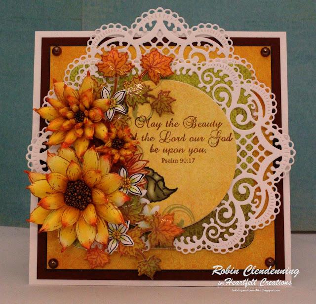 Inkmagination Heartfelt Creations Sunflowers Fall