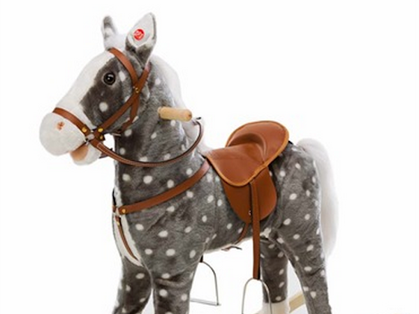 Plush Spotted Horse Rocker at Magic Cabin - Giveaway