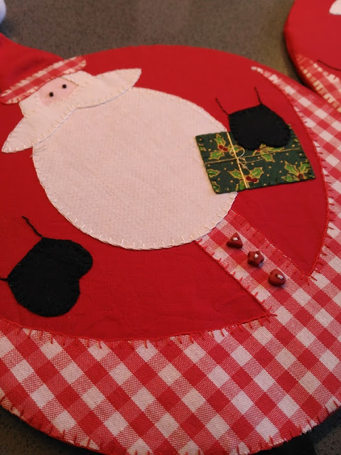 posavasos, kitchen, coaster, noel, christmas, santa