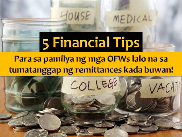 "Regardless of how big or small the earning of an Overseas Filipino Workers (OFW), it is important that he/she knows how to save and learn to properly manage their hard-earned money.  According to Senator Cynthia A. Villar, this is for the good of OFWs and their family, in case an OFW will retire and stay home for good.  As an advocate of OFW welfare and protection, Villar said, OFW must be armed with right know-how on how they can grow and use their savings to ensure the good future of their families.  ""They worked hard and sacrificed their time with their families so they will have a bright tomorrow. It will be disheartening, and more so frustrating if they do not use their savings wisely,"" Villar said.  ""Our workers need all the help and support when it comes to handling their savings. It is heartwarming to hear their success stories, and it is with pride that I align myself as among the many protectors and supporters of our OFWs,"" she added."