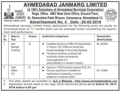 ahmedabad-janmarg-limited-recruitment