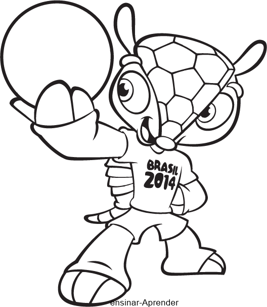 Jogo Desenhos da Copa do Brasil Para Colorir no Jogos Online Wx 3e1a3f3e535
