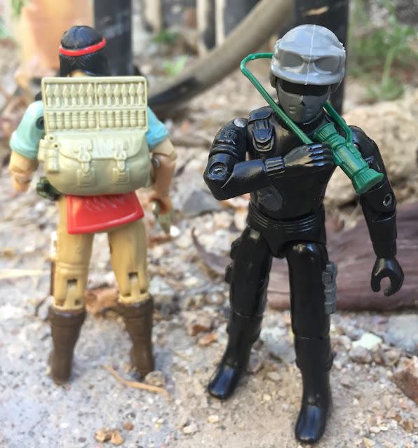 1985 Battle Gear, Recondo, Ripcord, Spirit, Thunder, Action Force, Palitoy, Stalker, Snake Eyes, Zartan