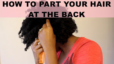 2 Ways on How To Part Your Hair at The Back of Your Head