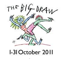 MV Arte en el Big Draw Tarragona.