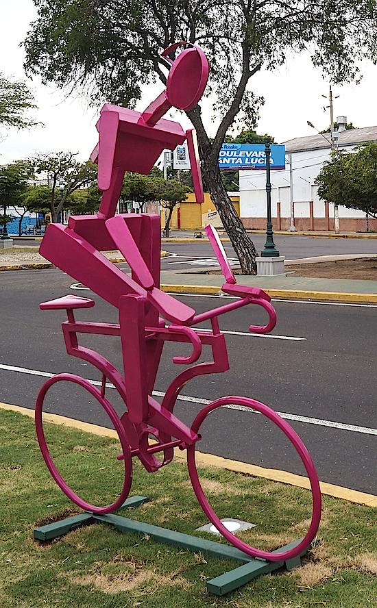 Велосипедист - железный дровосек