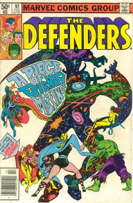 Defenders #92, Eternity