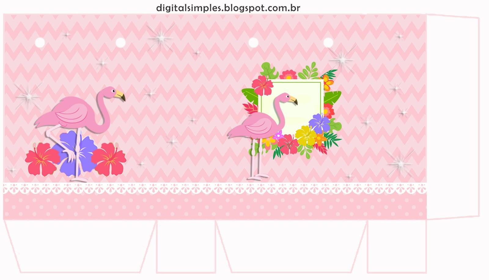 Flamingo Free Printable Boxes Oh My Fiesta For Ladies