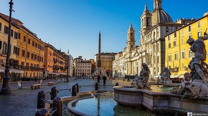 Piazza Navona - O que fazer em Roma, Itália