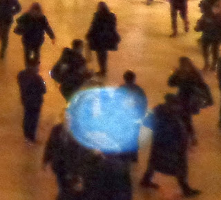 blue orb in Grand Central