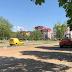 LUKAVAC - Počelo asfaltiranje parkinga u Titovoj ulici