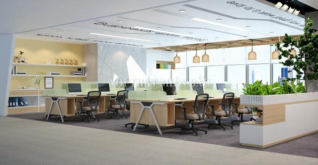 Lựa chọn những mẫu bàn làm việc thật chuyên nghiệp, hiện đại như mang đến cho không gian thiết kế văn phòng sang trọng và ấn tượng nhất