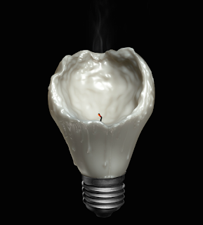 Green Pear Diaries, fotografía, publicidad, Matthew Edward Loh, photocrafting, Melting Bulb