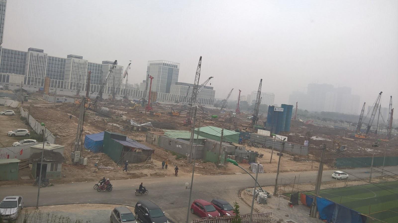 tiến độ an bình city