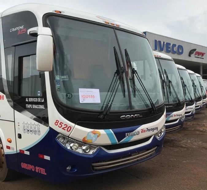 IVECO BUS consolida presença no Paraguai
