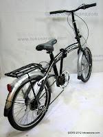 4 Sepeda Lipat Viva Hawk 6 Speed 20 Inci
